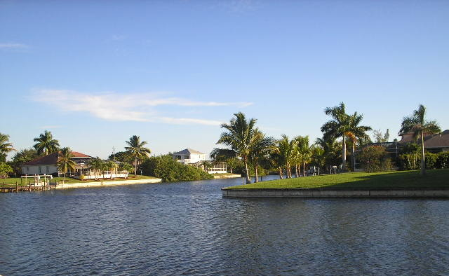 Canals in Cape Coral